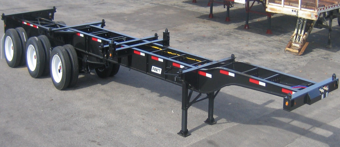 Container Chassis Landing Gear : Gn ez container chassis tank